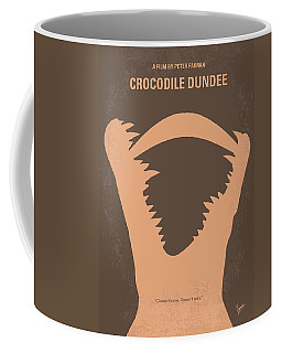 No210 My Crocodile Dundee Minimal Movie Poster Coffee Mug
