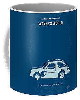 No211 My Waynes World Minimal Movie Poster Coffee Mug