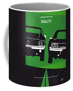 No214 My Bullitt Minimal Movie Poster Coffee Mug
