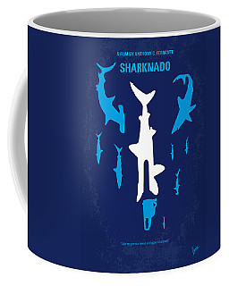 No216 My Sharknado Minimal Movie Poster Coffee Mug