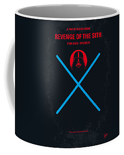 No225 My Star Wars Episode IIi Revenge Of The Sith Minimal Movie Poster Coffee Mug