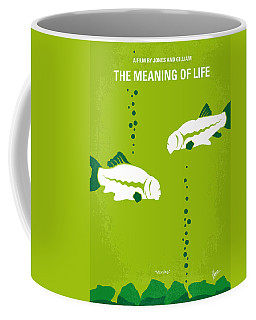 No226 My The Meaning Of Life Minimal Movie Poster Coffee Mug