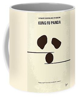 No227 My Kung Fu Panda Minimal Movie Poster Coffee Mug
