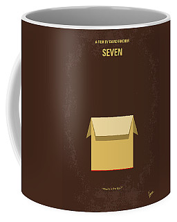 No233 My Seven Minimal Movie Poster Coffee Mug