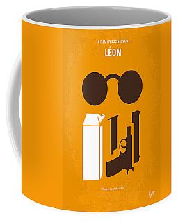 No239 My Leon Minimal Movie Poster Coffee Mug