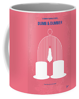 No241 My Dumb And Dumber Minimal Movie Poster Coffee Mug