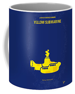 No257 My Yellow Submarine Minimal Movie Poster Coffee Mug
