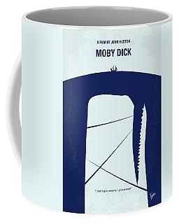No267 My Moby Dick Minimal Movie Poster Coffee Mug