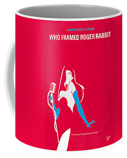 No271 My Roger Rabbit Minimal Movie Poster Coffee Mug
