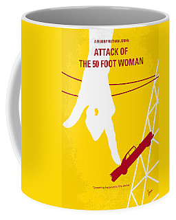 No276 My Attack Of The 50 Foot Woman Minimal Movie Poster Coffee Mug