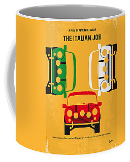 No279 My The Italian Job Minimal Movie Poster Coffee Mug