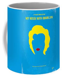 No284 My Week With Marilyn Minimal Movie Poster Coffee Mug