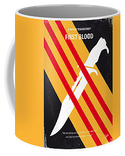 No288 My Rambo First Blood Minimal Movie Poster Coffee Mug