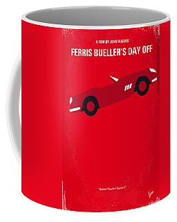 No292 My Ferris Bueller's Day Off Minimal Movie Poster Coffee Mug
