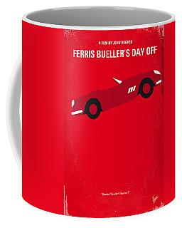 No292 My Ferris Bueller's Day Off Minimal Movie Poster Coffee Mug by Chungkong Art