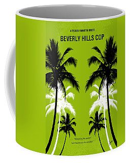 No294 My Beverly Hills Cop Minimal Movie Poster Coffee Mug