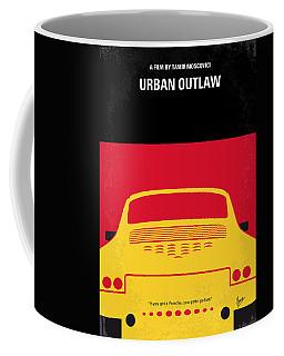 No316 My Urban Outlaw Minimal Movie Poster Coffee Mug