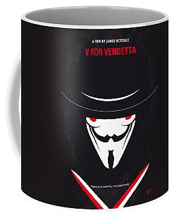 No319 My V For Vendetta Minimal Movie Poster Coffee Mug