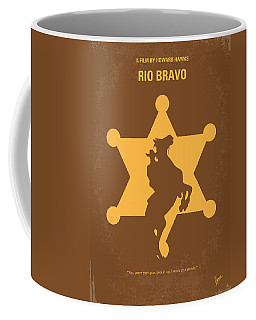 No322 My Rio Bravo Minimal Movie Poster Coffee Mug