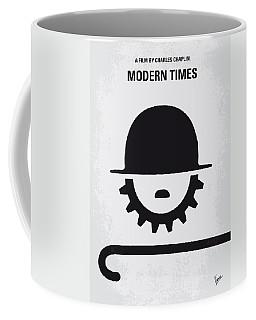 No325 My Modern Times Minimal Movie Poster Coffee Mug