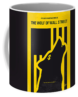 No338 My Wolf Of Wallstreet Minimal Movie Poster Coffee Mug