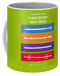 No346 My Teenage Mutant Ninja Turtles Minimal Movie Poster Coffee Mug