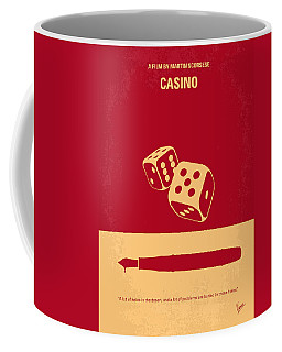 No348 My Casino Minimal Movie Poster Coffee Mug