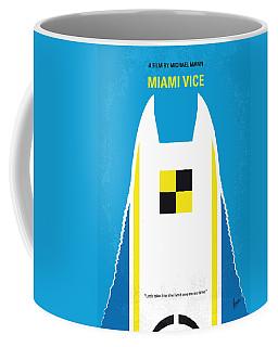 No351 My Miami Vice Minimal Movie Poster Coffee Mug