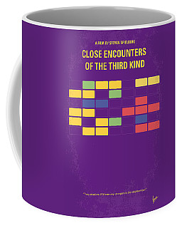 No353 My Encounters Of The Third Kind Minimal Movie Poster Coffee Mug