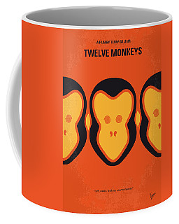 No355 My 12 Monkeys Minimal Movie Poster Coffee Mug