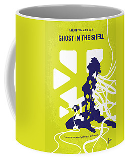 No366 My Ghost In The Shell Minimal Movie Poster Coffee Mug