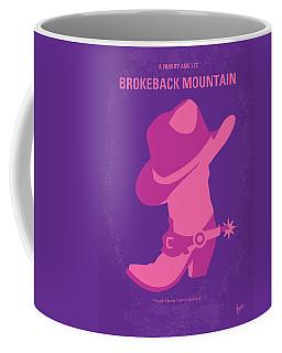 No369 My Brokeback Mountain Minimal Movie Poster Coffee Mug