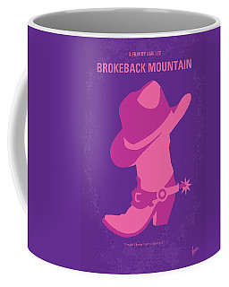 No369 My Brokeback Mountain Minimal Movie Poster Coffee Mug