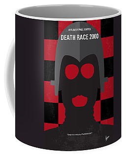 No367 My Death Race 2000 Minimal Movie Poster Coffee Mug