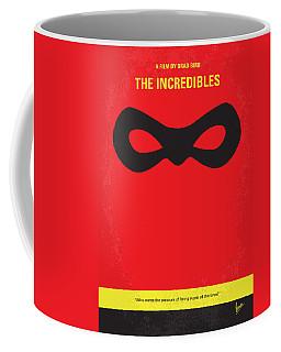 No368 My Incredibles Minimal Movie Poster Coffee Mug
