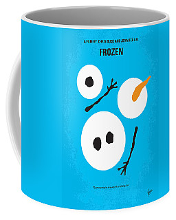 No396 My Frozen Minimal Movie Poster Coffee Mug