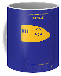 No392 My Airplane Minimal Movie Poster Coffee Mug