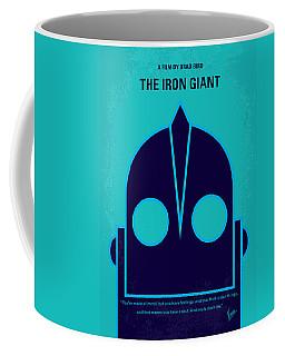 No406 My The Iron Giant Minimal Movie Poster Coffee Mug