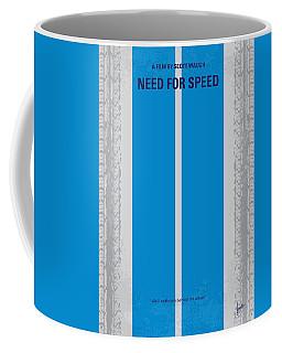 No407 My Need For Speed Minimal Movie Poster Coffee Mug