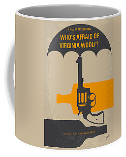 No426 My Whos Afraid Of Virginia Woolf Minimal Movie Poster Coffee Mug