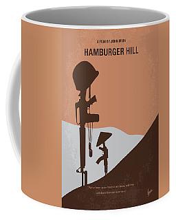 No428 My Hamburger Hill Minimal Movie Poster Coffee Mug