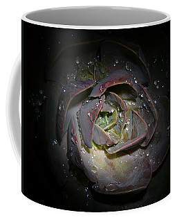 Coffee Mug featuring the photograph Nocturnal Diamonds by Evelyn Tambour