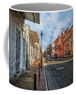 Nola French Quarter Coffee Mug by Sennie Pierson