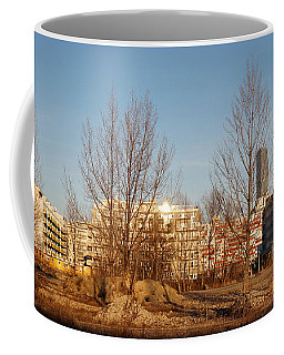 Nordbahn Vienna East Skyline Coffee Mug