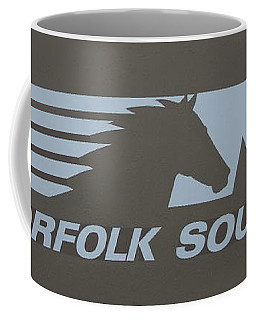 Norfolk Southern Railway Art Coffee Mug