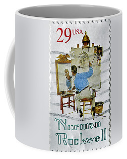 Norman Rockwell Coffee Mug