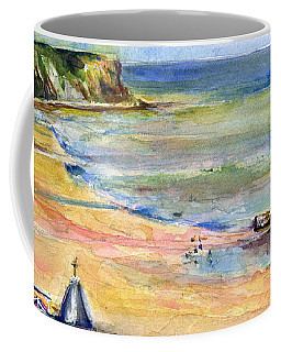 Normandy Beach Coffee Mug