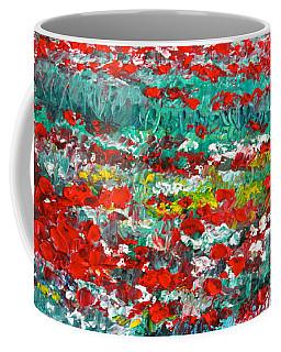 Normandy Poppy Field Dreams I Coffee Mug