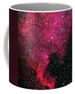 North American Nebula Coffee Mug by Alan Vance Ley