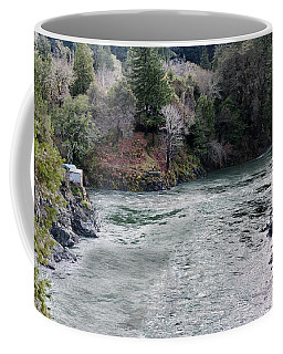 North And Middle Fork Of Smith River 2 Coffee Mug